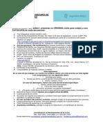 Documentación para ingresar a la Policía Vial de Jalisco