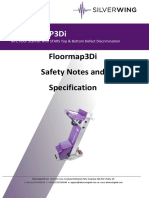 Floormap Manual Section 0 Safety Notes and Specification