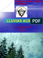 LLUVIAS ACIDAS