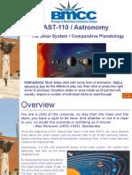 Solar System - Planetology (BMCC).ppsx