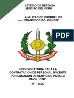 Bases II Conv Emch 2020