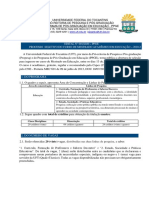 Edital nº 01_2020- PPGE - Seleção Mestrado em Educação - 2020.2