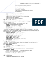Microsoft Visual Basic 6 (Database Programming SQL)
