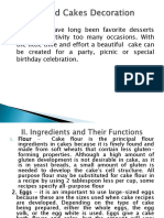 cakes ppt