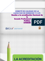 Acreditación - standares - v. externa