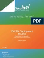 BRKDCT-2404_VXLAN Fundamentals