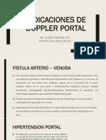 INDICACIONES DE DOPPLER PORTAL.pptx