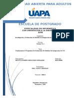 TAREA UNIDAD I. Fundamentos Y Propósitos De Evaluación De Modelos De Integración De TIC