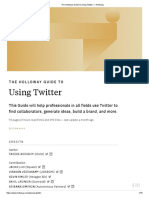 The Holloway Guide to Using Twitter — Holloway.pdf