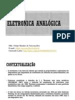 Aula 1 Eletrônica Analógica - Diodos Semicondutores.ppt