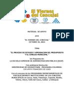Material VDC - Presupuesto Municipal - Octubre 29 de 2004