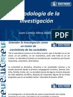 Metodología de la Investigación. Cátedra completa