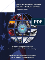 Fy2021 Budget Request Overview Book