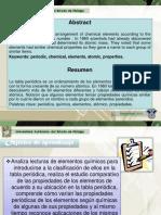 HISTORIA DE LA TABLA PERIODICA DE LOS ELEMENTOS QUIMICOS Área Académica Química Paz María de Lourdes Cornejo Arteaga (1).pptx