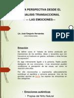 EMOCIONES VISTAS DESDE LA PERSPECTIVA DEL ANALISIS TRANSACCIONAL