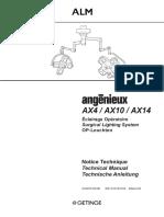 Getinge_ALM_AX4-10-14_-_Service_manual