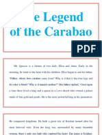 The Legend of the Carabao