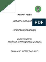 DERECHO INTERNACIONAL PUBLICO P