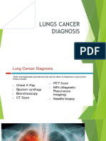 Lungs Cancer Diagnosis