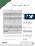 recursos en los entornos e-learning