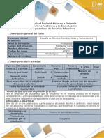 Guía para el uso de recursos educativos - Crucigrama