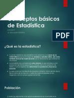 Ejercicios Estadística Población Muestra Individuo