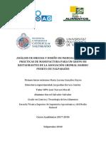 Salvador - Análisis de brecha y diseño de manual de Buenas Prácticas de Manufactura para un grupo....pdf