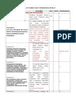 CHECK LIST AKREDITASI RS PENDIDIKAN (2).doc