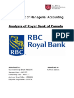 Assignment on RBC bank