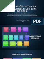 Ley de las TIC en Colombia