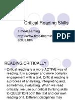Critical Reading Skills-1