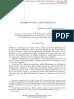 4.3 EL SISTEMA NACIONAL DE PLANEACIÓN