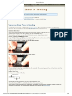 Shear in Bending.pdf