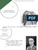 Walter a Shewhart