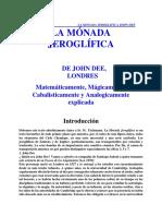 DEE, John - La Monada Jeroglfica