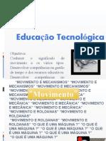 80409 -3º ECI  Movimento e mecanismos