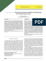 Brain disease or biopsychosocial model in addiction