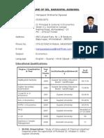 Agrawal - Biodata