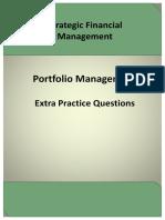 Portfolio Management Extra Practice Questions