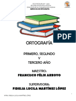 ACTIVIDADES DE ORTOGRAFIA