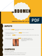 semiologia abdomen