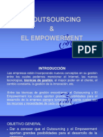 OUTSOURCING Y EMPOWERMENT