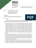 Intruksi Pembentukan PKD Tahun 2020