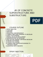 2. Repair of Concrete Superstructure and Substructure