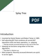Splay Tree