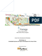 Embedded Systems & SmartCity Workshops - Pravega IISc Bangalore (1)
