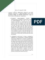 Ignacio vs. Hilario 76 Phil. 605 , April 30, 1946
