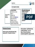 Partcipants' Profile template TRICOR 2019-20
