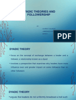Dyadic-Theories-Followership-Report