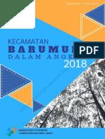 Kecamatan Barumun Dalam Angka 2018